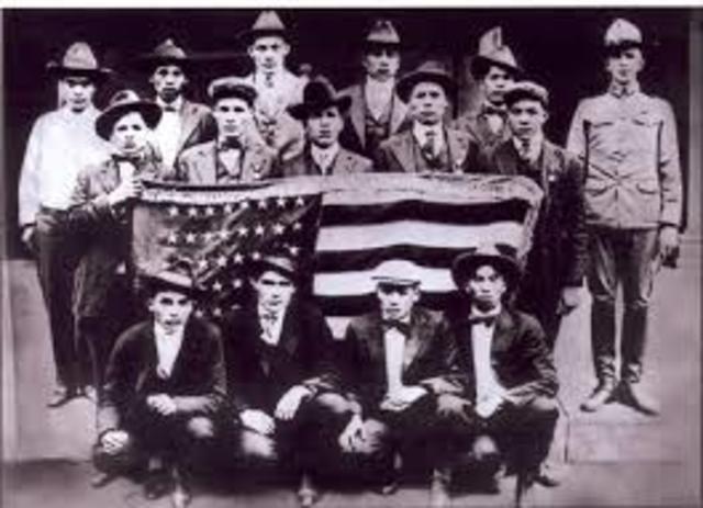 Europe - USA in WW1