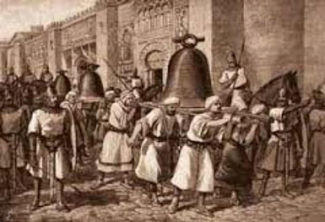 Saqueo de Santiago de Compostela