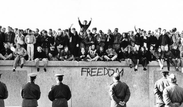 Destruction of Berlin Wall
