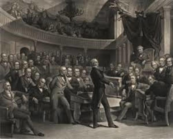 The Great Compromise (Connecticut Compromise) is presented by Roger Sherman, reconciling the Virginia and New Jersey Plans advocates proportionalrepresentation in the House of Representatives and representation in the Senate