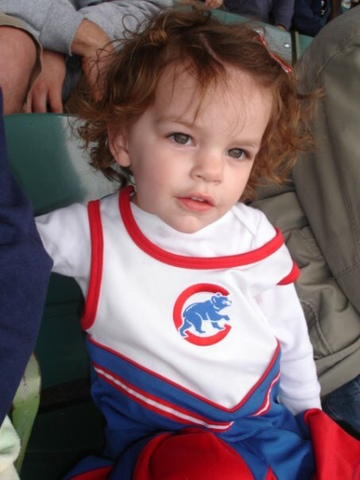 1st Cubs game at Wrigley Field