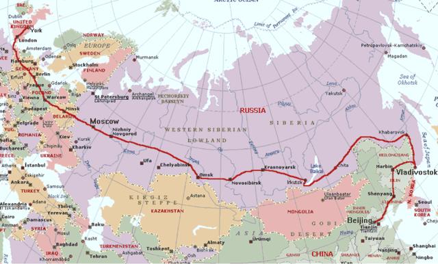 Creation of the Trans-Siberian Railway