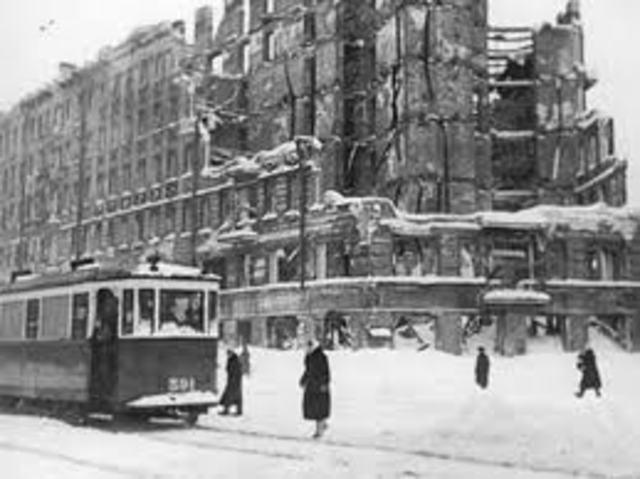Siege of Leningrad Ends
