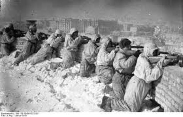 Battle of Stalingrad Begins