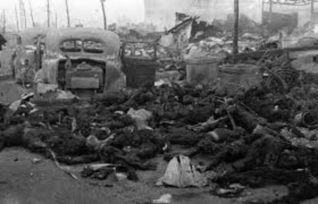 Japan Fire Bombings
