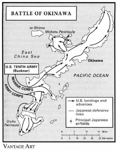 Taking Okinawa