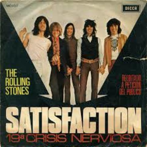 """""""Satisfaction"""" by The Rollings Stones"""