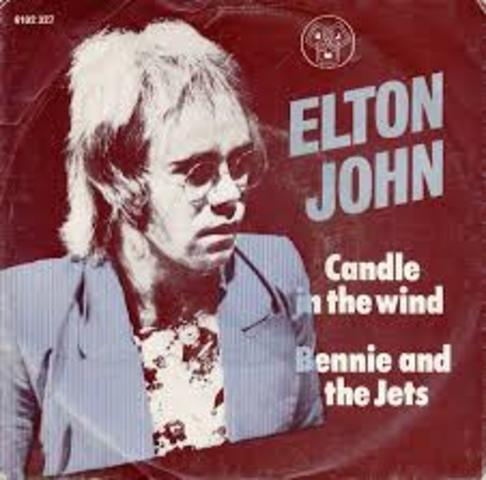 """""""Candle In The Wind"""" by Elton John"""