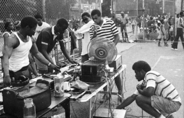 Creation of hip-hop