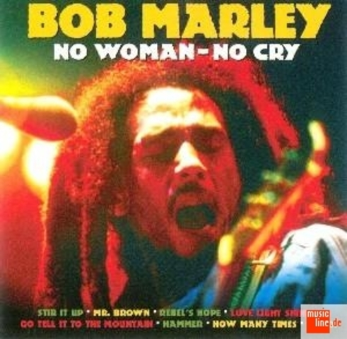 """No Woman, No Cry"" by Bob Marley"