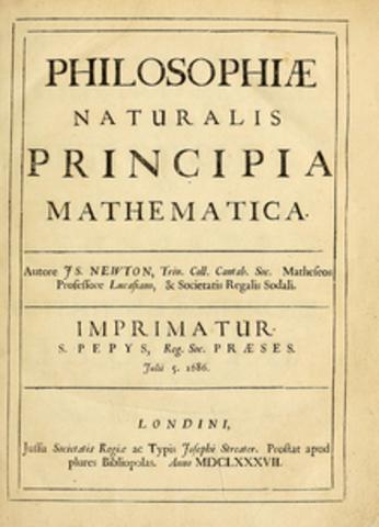 Philosophiae naturalis pincipia mathematica