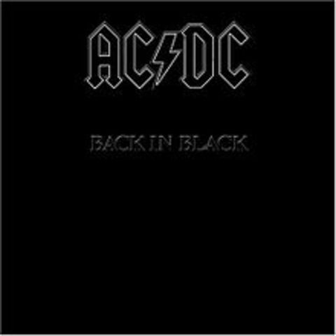 """""""Back In Black"""" by AC/DC"""