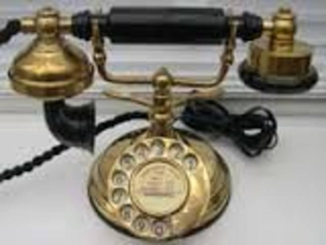 cradle telephone