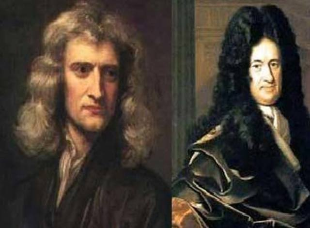 Le muestran obras de Newton