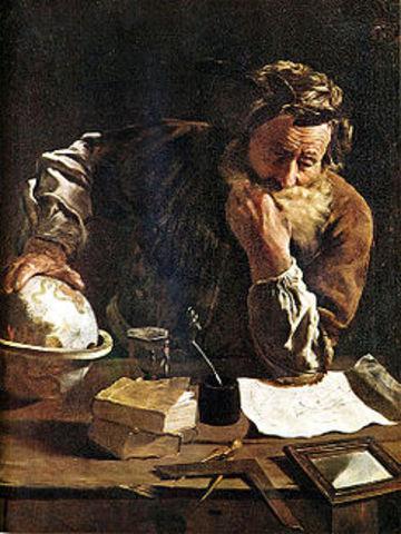Nacimiento de Arquímedes