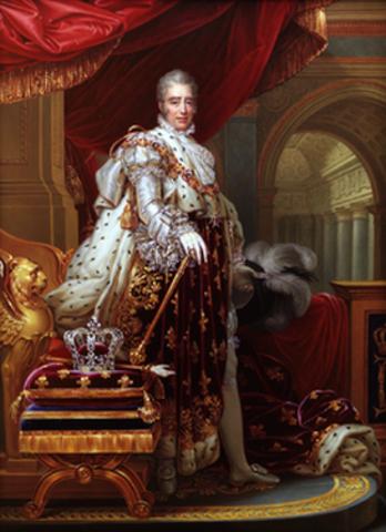los republicanos se levantaron y obligaron a exiliarse al rey Carlos X