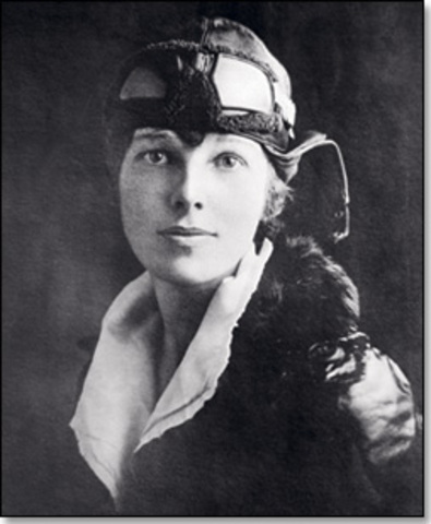 Amelia Earhart First Woman to Fly Solo Across the Atlantic