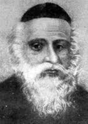 Rabbi Eliahou and his Son.