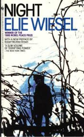 Elie Wiesel publishes book