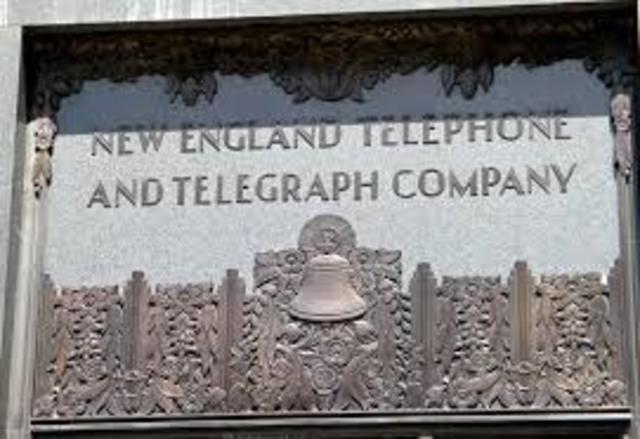 the New England telephone and telegraph co.
