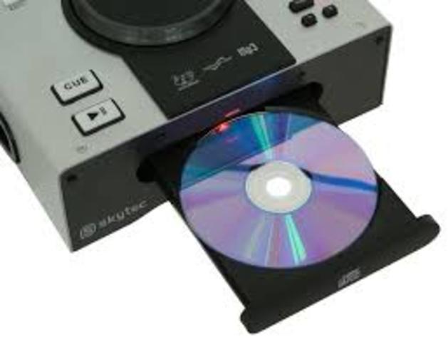 lector de CD's
