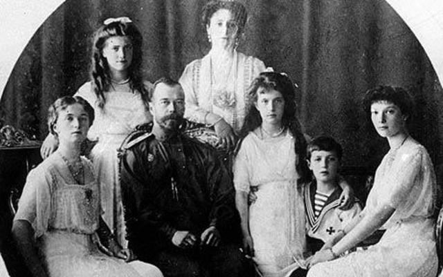 Czar Nicholas ll abdicates the Russian throne