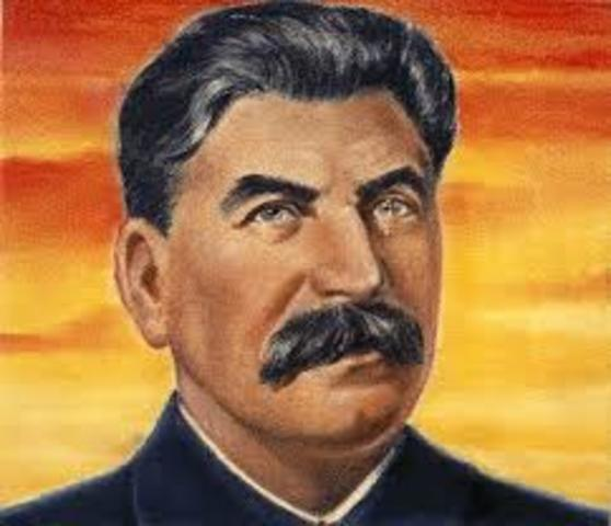 Stalin becomes dictator of Soviet Union