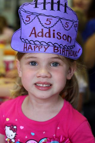 Addison's 5th birthday