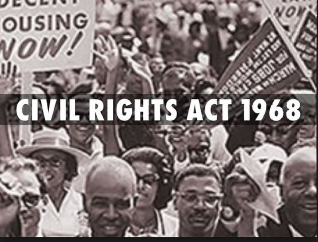 civil right act of 1968