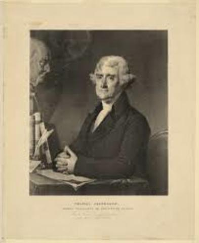 Thomas jefferson and secretary of state