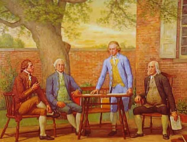 """Articles of Confederation officially """"in force"""" after ratification by the colonies"""