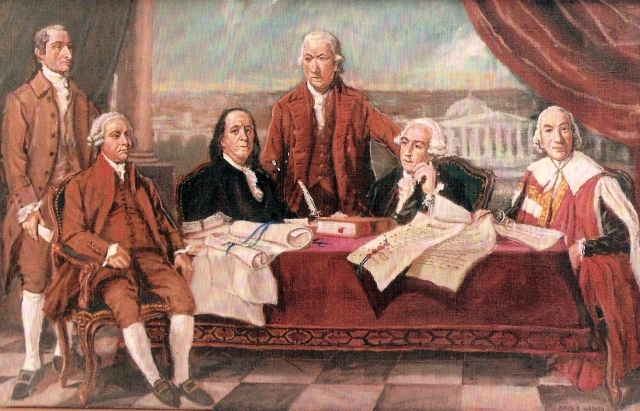 Treaty of Paris is signed by Great Britain and the United States, ending the Revolutionary War. Senate ratifies in 1784.