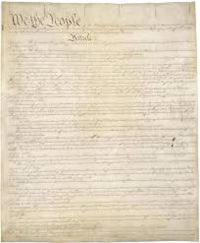 Constitution goes into effect
