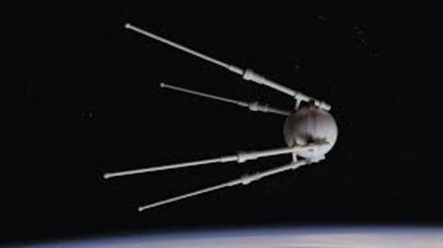 USSR launches Sputnik 1.
