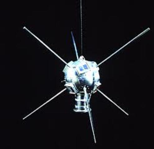 The Vanguard 1 satellite is launched. It continues to function for 3 years.