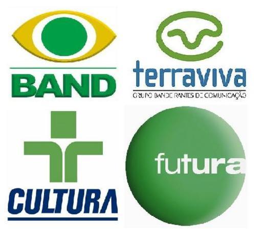 Estréia dos Canais Cultura, Futura, Band e Terra Viva