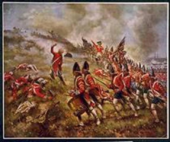 British Attack at Concord