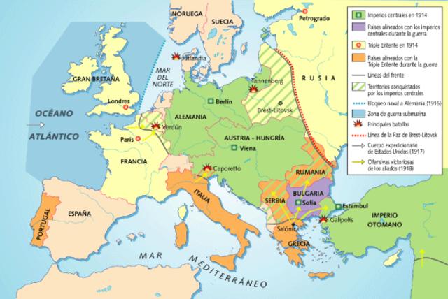 Bulgaria se une a los Aliados