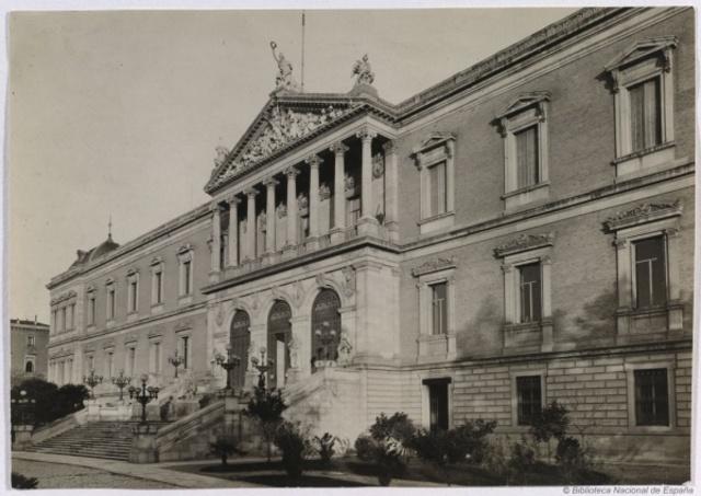 1896 D.C. EDAD CONTEMPORANEA - Palacio de Archivos, Bibliotecas y Museos