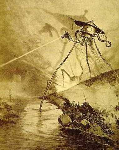 Brodcasting of the war of the worlds