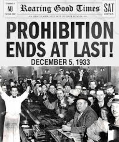 Prohibtion and Crime