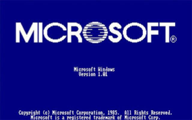 primera versión de Windows,