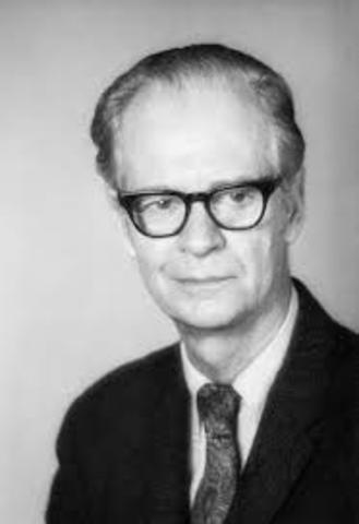 Skinner teoria Conductismo
