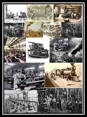 ¡Y llegó la Revolución inddustrial! (Revolución industrial)