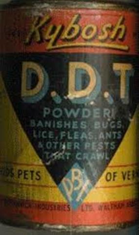 Prohibición del uso de pesticidas DDT
