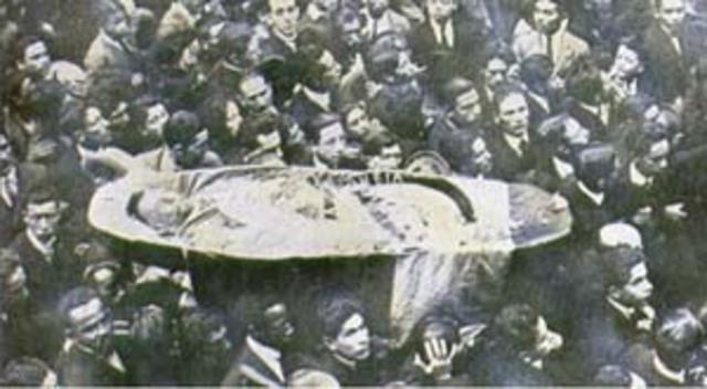 Anuncios y Muerte del General Rafael Uribe Uribe