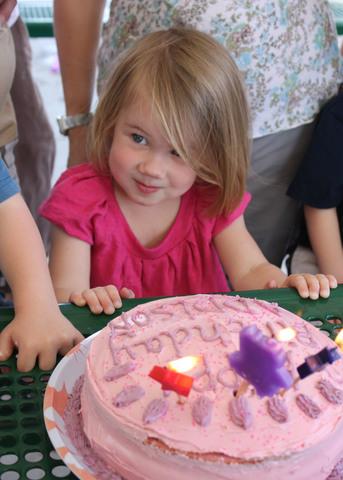 Addison's 3rd birthday