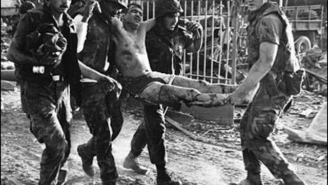 U.S. marines killed in Lebanon
