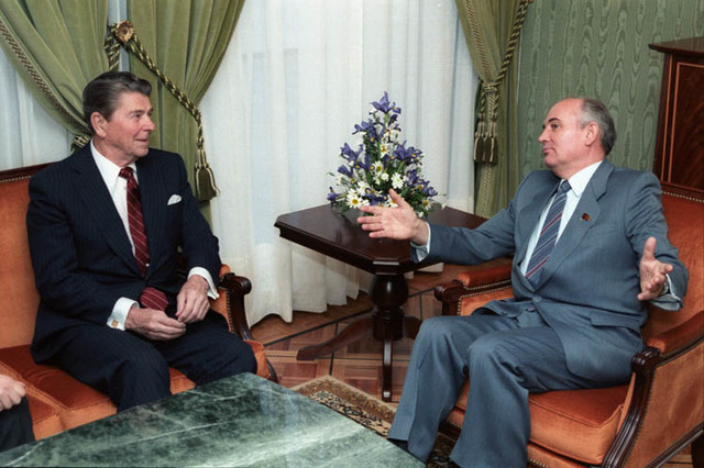 Second Reagan-Gorbachev summit meeting