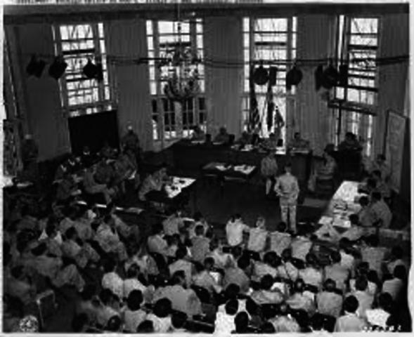 Japaneese War Crime Trials